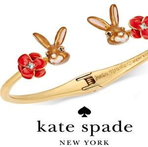 New♠️kate spade Desert Muse Bunny Bracelet!